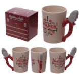 Pliers Shaped Handle Mug with Builder Decal